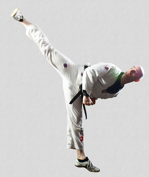 High Side Kick 500x593