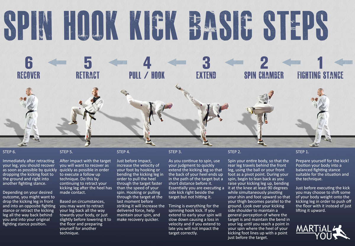 Spin Hook Kick Guide Poster 1200x833