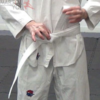 How To Tie Your Belt Step 6