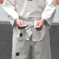 How To Tie Your Belt Step 7