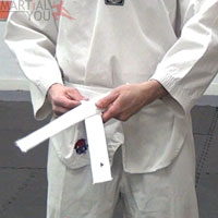 How To Tie Your Belt Step 9